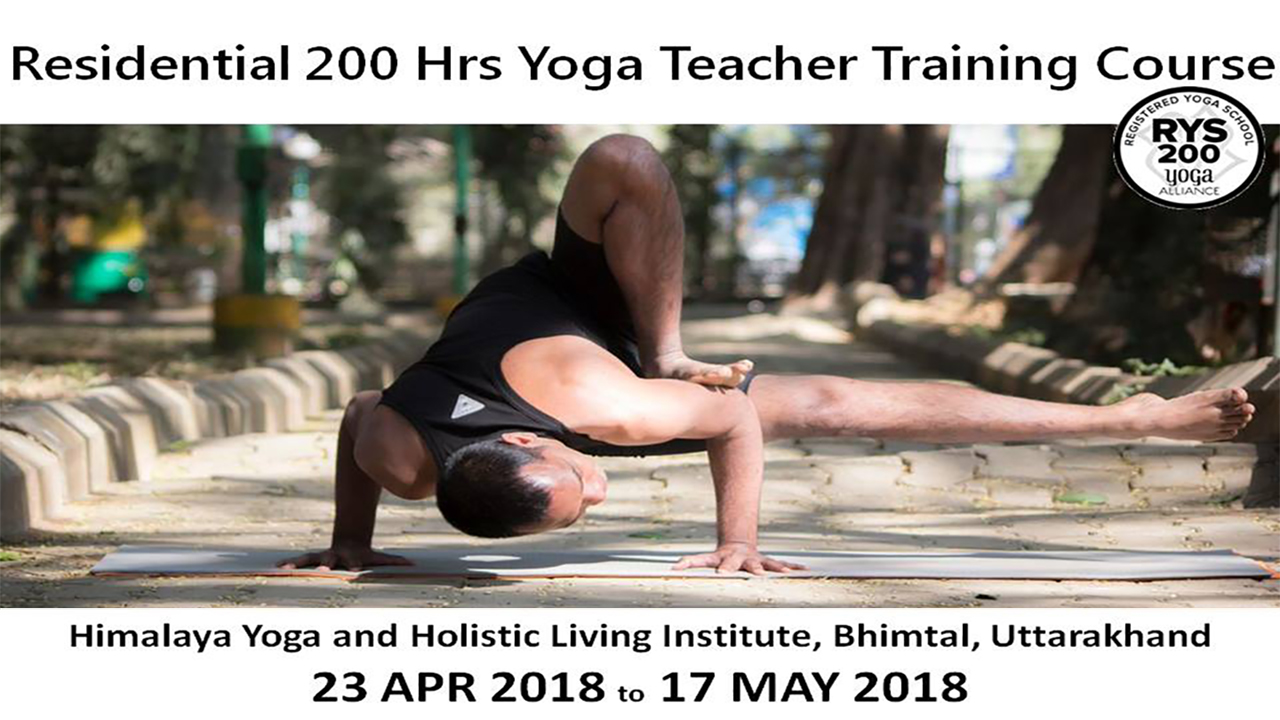 Residential 200 Hrs Vinyasa Yoga Teachers Training Course